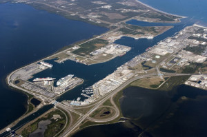 port-canaveral-aerial