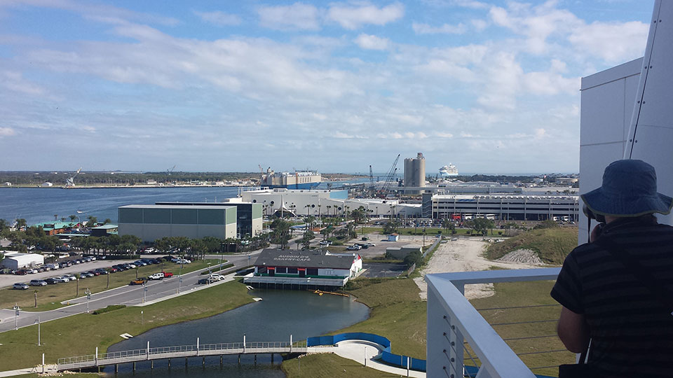 Port Canaveral - terminal 1