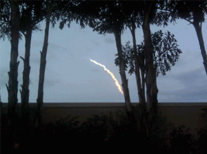 Cape Canaveral Rocket Launch